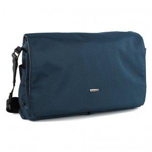 Bugatti Contratempo Messenger Bag Farbe: blau