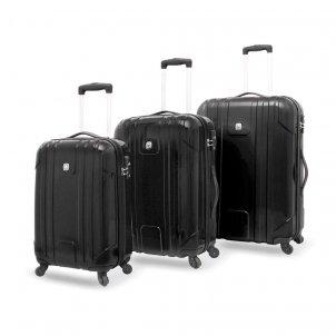 Wenger PC Light 3er Koffer-Set bestehend aus 53,5 cm / 61 cm / 71,5 cm - 4 Rollen Koffer