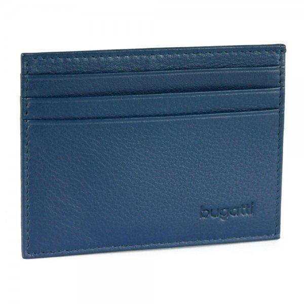 Bugatti Sempre Kreditkartenetui Farbe: blau