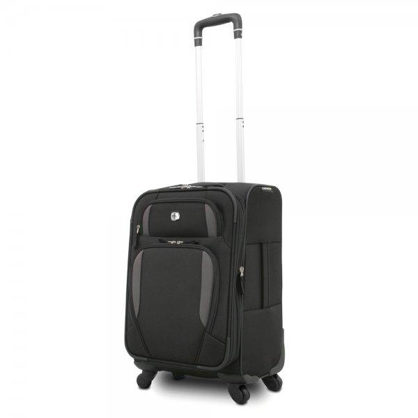 Wenger Lugano 4 Rollen Bordgepäck-Koffer 50 cm Farbe: schwarz