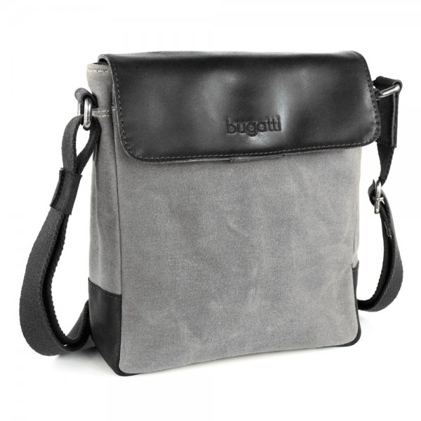 Bugatti Urbano Messenger Bag klein Farbe: anthrazit